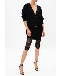 Versace Jeans Couture Lace Leggings Black