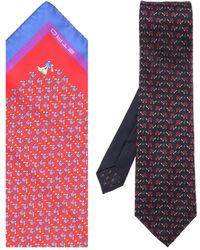 Etro Tie & Pocket Square Set - Multicolour