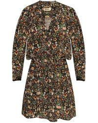 Zadig & Voltaire - Floral-printed Dress Black - Lyst