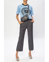 Fendi Short-sleeved Top - Blue