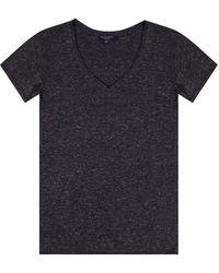 AllSaints - 'emelyn' T-shirt Grey - Lyst