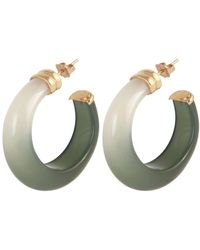 Gas Bijoux 'abalone' Earrings - Green