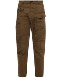 DSquared² Raw-trimmed Trousers - Green