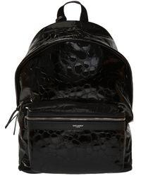 Saint Laurent 'city' Backpack - Black