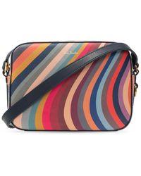 Paul Smith Shoulder Bag With Logo - Multicolour