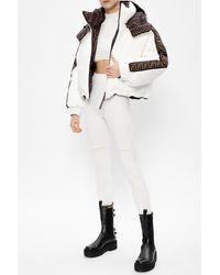 Fendi Reversible Down Jacket - White