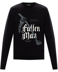Undercover Printed Sweatshirt Black