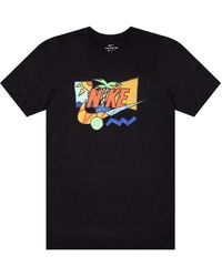 Nike Logo T-shirt Black