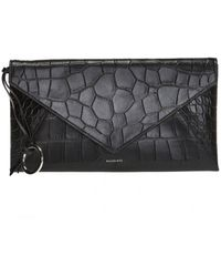 AllSaints 'polly' Clutch With Card Case - Black
