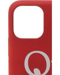 Off-White c/o Virgil Abloh Iphone 11 Pro Case Unisex Red