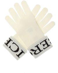 Iceberg Logo-embroidered Gloves - Multicolour