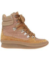 Isabel Marant 'brendty' High-top Sneakers - Brown