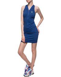 Marcelo Burlon Slip Dress - Blue