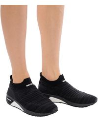 DIESEL 's-kb Athl' Sport Shoes With A Sock - Black