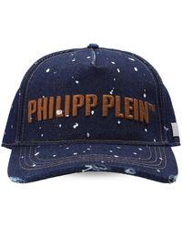 Philipp Plein Baseball Cap - Blue