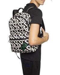 Dolce & Gabbana Logo Print Backpack - Black