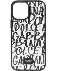 Dolce & Gabbana Iphone 12 Pro Max Case Unisex White