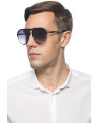 Moschino Sunglasses With A Decorative Logo - Black