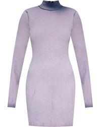 Cotton Citizen Dress With Worn Effect Grey