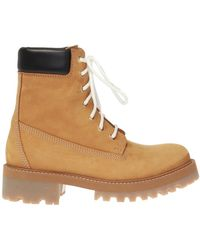 Vetements Suede Boots - Brown