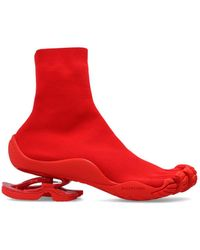 Balenciaga Sock Sneakers - Red