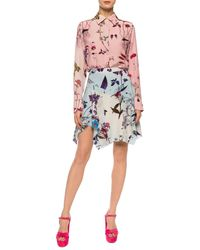 Stella McCartney Floral-printed Shirt Pink