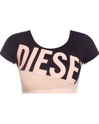 DIESEL Logo Top Black
