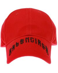 Balenciaga Logo-embroidered Baseball Cap