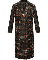 AllSaints 'lottie' Double-breasted Coat - Black