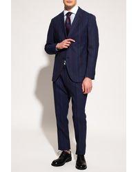 Etro Pinstriped Suit - Blue