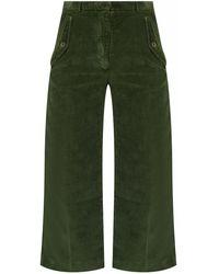 KENZO Corduroy Trousers - Green