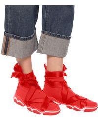 RED Valentino Glam Run Sock Sneakers in