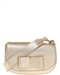 Ferragamo - 'anna' Shoulder Bag - Lyst