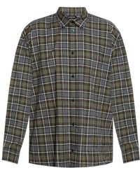 Balenciaga - Checked Shirt - Lyst
