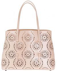 Alaïa 'vienne' Hand Bag - Natural