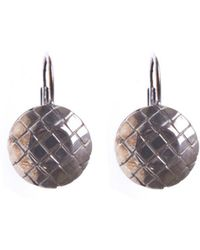 Bottega Veneta - Silver Earrings - Lyst