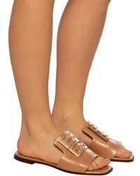 Givenchy 4g Sandals - Brown