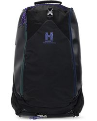 White Mountaineering Backpack With Logo - Black
