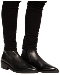 Marsèll Pointed Toe Ankle Boots Black