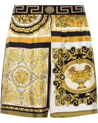 Versace Patterned Shorts Multicolour