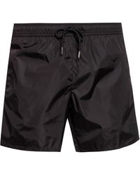 Moncler - Branded Swimming Shorts - Lyst