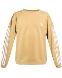 adidas Originals Sweatshirt With Logo - Natural