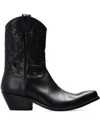 IRO 'jhones' Cowboy Boots - Black