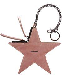 DIESEL - Star-shaped Key Ring - Lyst