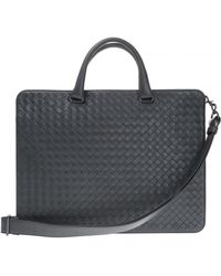 Bottega Veneta Business Bag - Gray