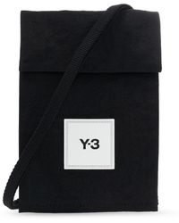Y-3 Pouch With Strap Black
