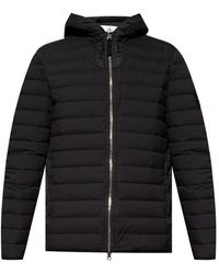Stone Island - Quilted Jacket - Lyst