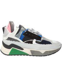 DIESEL 's-brentha' Distressed Sneakers - Blue