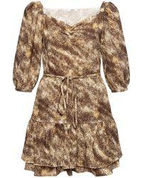 Marysia Swim Ruffled Dress Brown