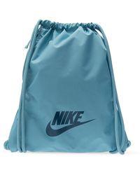 Nike Gym Club Drawstring Bag - Blue